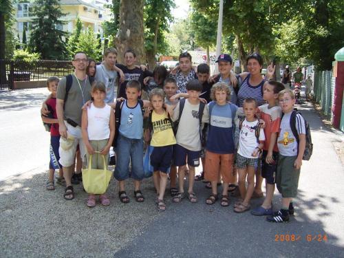 2008. 07. Gyerektábor Zamárdi